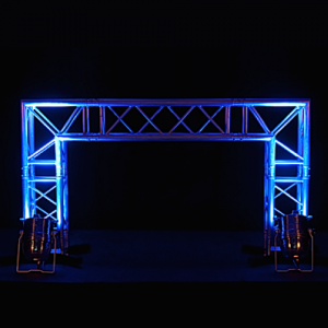 DJ Booth Truss LED spots afrok zwart
