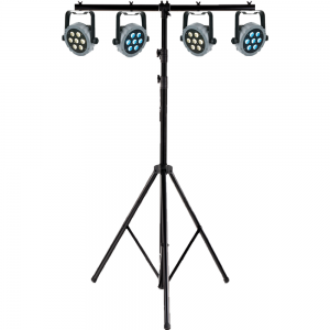 Showtec LED set Tri Par 7