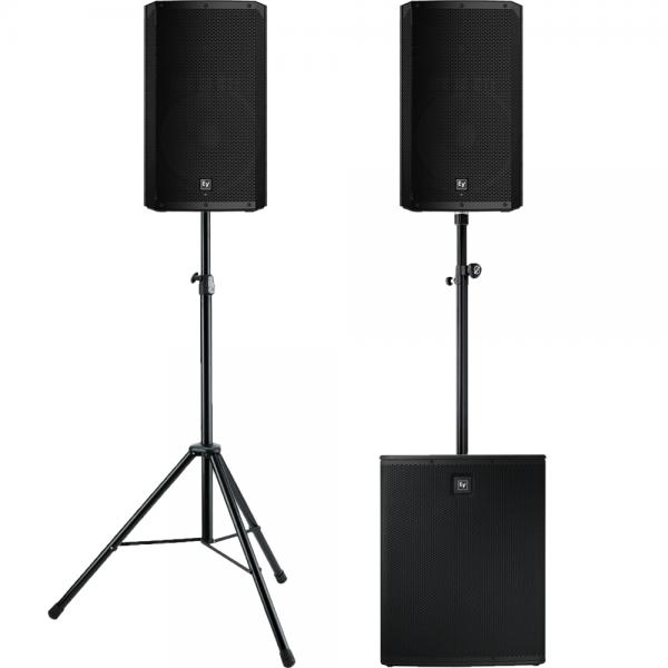 Electro Voice huisfeestje geluidsset