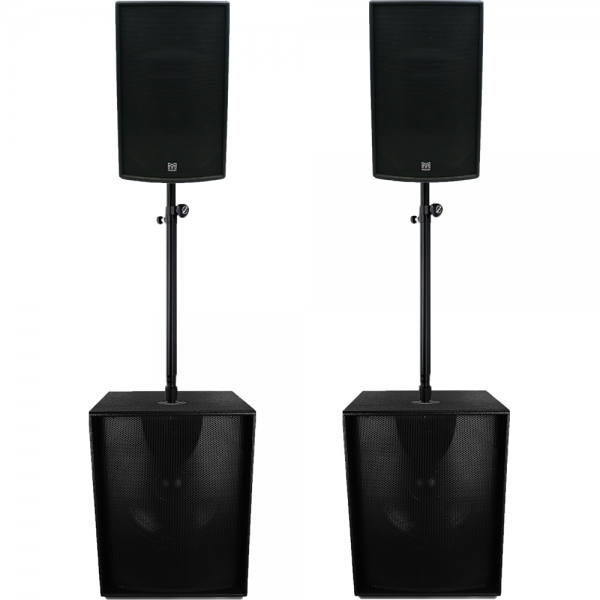 Martin Audio Pro geluidsset F15 S18+