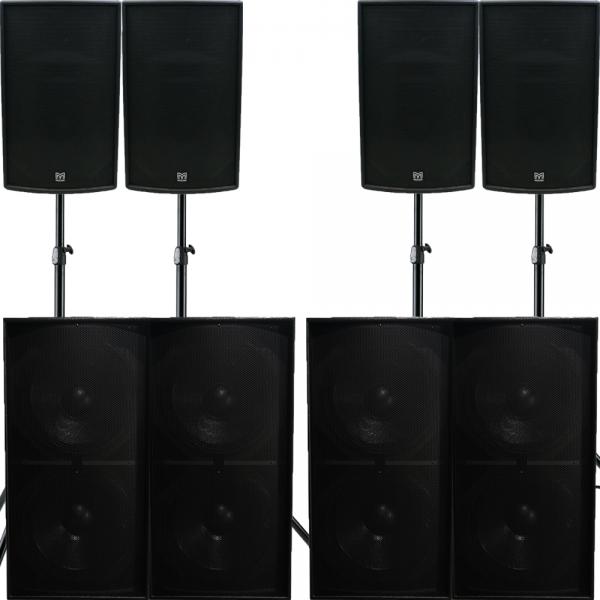 XXL Pro geluidssset Martin Audio