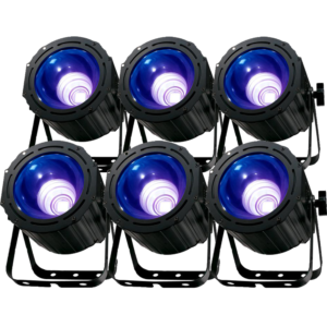 blacklight lichtset uv spot led