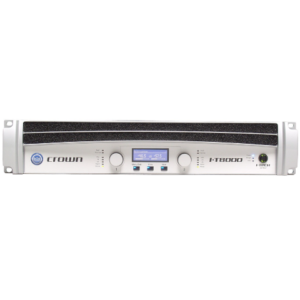 crown audio I-t8000 digitale versterker