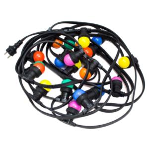 Prikkabel LED gekleurd