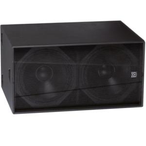 Productfoto van een Martin Audio WS218X subwoofer die beschreven is in dit artikel