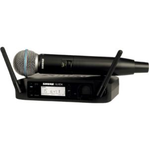 Shure QLX-D24E draadloze zangmicrofoon
