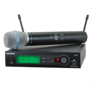 Shure SLX24 draadloze zangmicrofoon