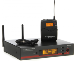 Sennheiser EW100G3 draadloze headset.